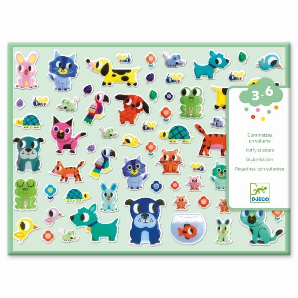 Sticker: Meine kleinen Freunde | Djeco