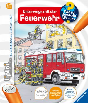 tiptoi® WWW Feuerwehr (Band 6) | Ravensburger Buchverlag
