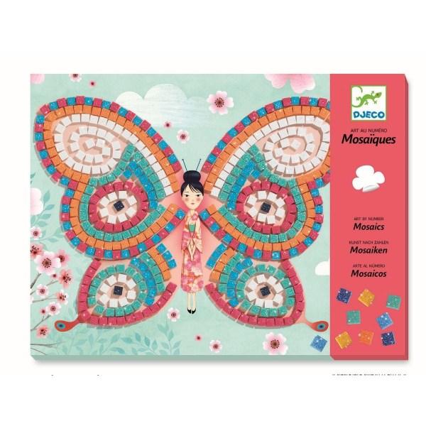Mosaike: Glitzer Schmetterlinge | Djeco