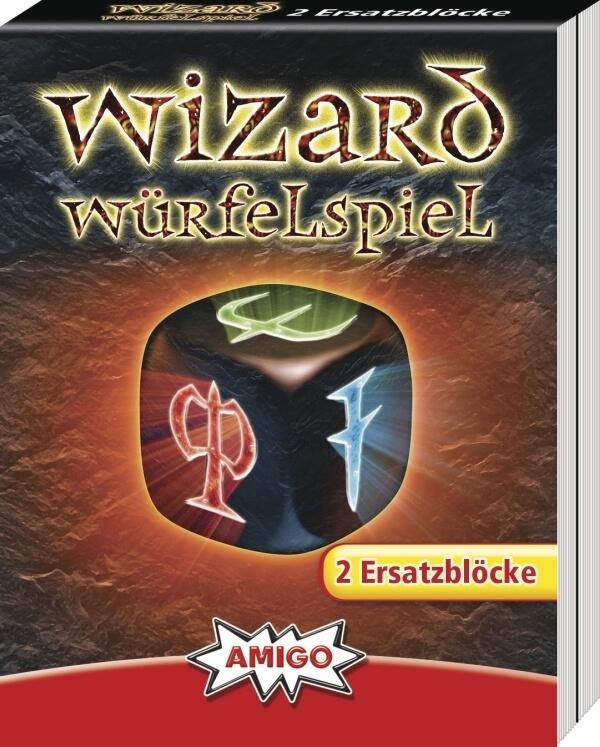 Wizard Würfelspiel Ersatzblöc | Amigo