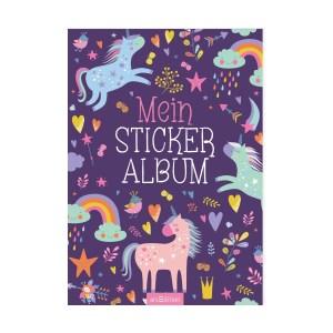 Mein Stickeralbum -Einhörner   Ars Edition