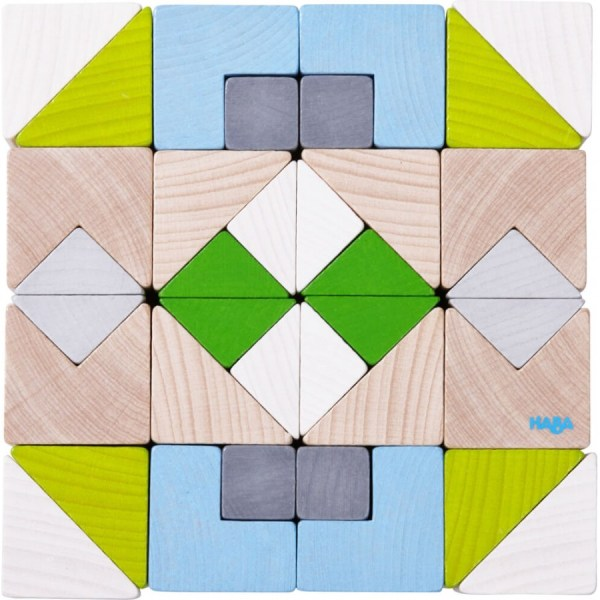 3D-Legespiel Würfelmosaik N, | Haba