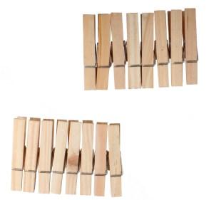 Wäscheklammern aus Holz | Heless