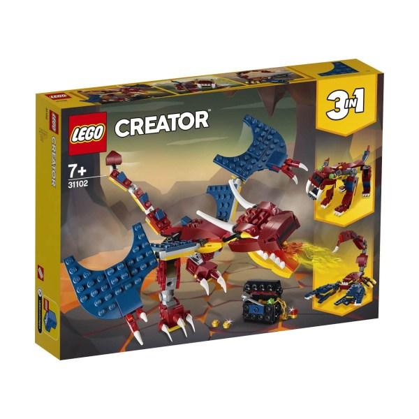 LEGO® Creator 31102 Feuerdrache | Lego