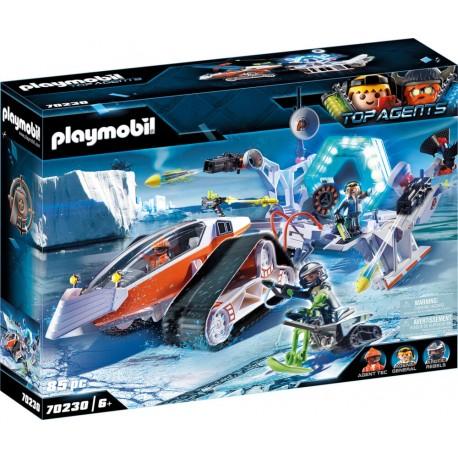 Spy Team Kommandoschlitten   Playmobil