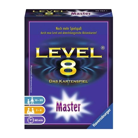 Level 8 Master D-Ravensburger® Kartenspiele | Ravensburger Spielverlag
