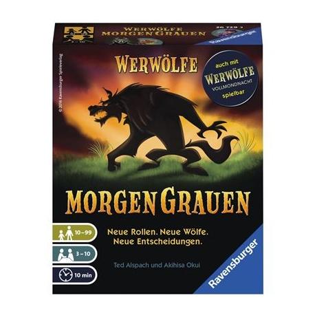 Werwölfe Morgengrauen D-Ravensburger® Kartenspiele | Ravensburger Spielverlag