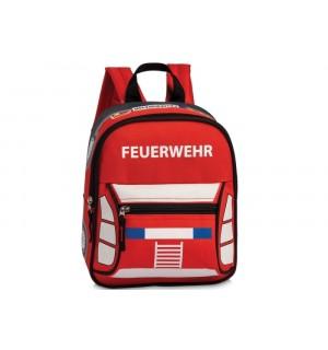 Rucksack Feuerwehr rot | Vedes