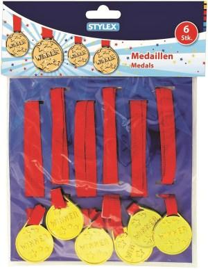 Medaillen am Band,6 St,/Karte | Aurich