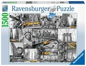 Farbtupfer in New York-1500 Teile   Ravensburger Spielverlag