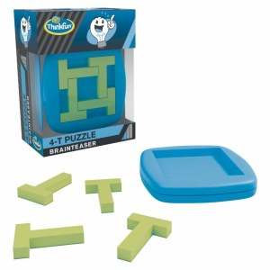 A-Ha! 4-T Puzzle EN-ThinkFun | Ravensburger Spielverlag