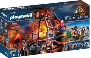 Burnham Raiders Lavamine | Playmobil