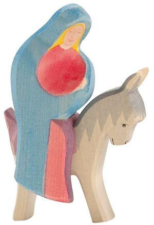 Maria auf dem Esel 2-tlg. | Ostheimer
