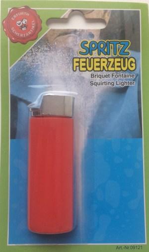 Spritz-Feuerzeug,Import,Blist | Aurich