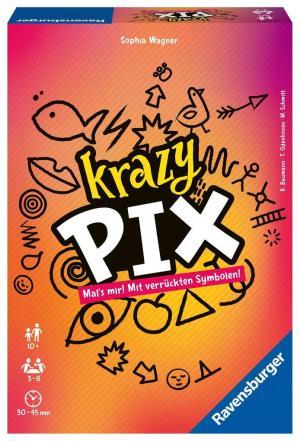 Krazy Pix D-Gesellschaftsspiele | Ravensburger Spielverlag