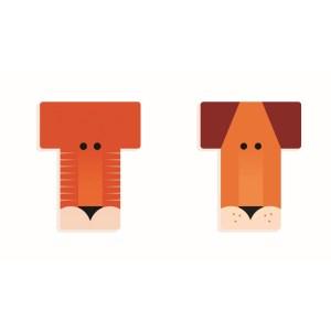 T - Holzbuchstabe | Djeco