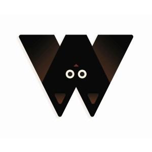 W - Holzbuchstabe | Djeco