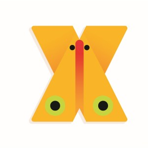 X - Holzbuchstabe | Djeco