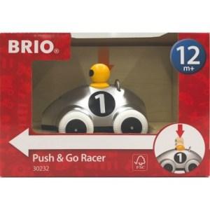 Push & Go Rennwagen Silber Ed | BRIO