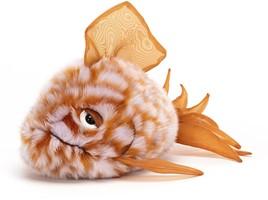 Grumpy Fish Orange | Jellycat