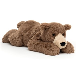 Woody Bear Lying | Jellycat