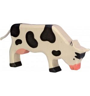 Kuh, grasend, schwarz | Gollnest