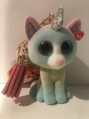 Heather Cat Mini Boo Clip | Ty UK