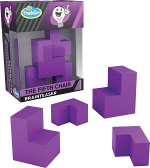 A-Ha! Fifth Chair EN-ThinkFun | Ravensburger Spielverlag
