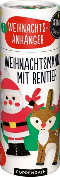 Näh-Set: 2 Weihnachtsanhänger | Coppenrath
