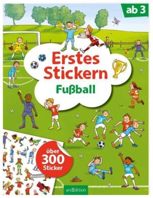 Erstes Stickern Fußball | Ars Edition