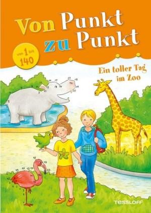 Von Punkt zu Punkt 1 bis 140, Ein toller Tag im Zoo | Tessloff Verlag