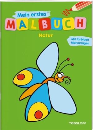 Mein erstes Malbuch Natur   Tessloff Verlag