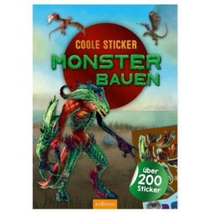 Coole Sticker: Monster   Ars Edition