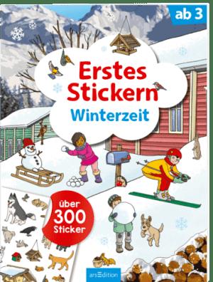 Erstes Stickern: Winter   Ars Edition