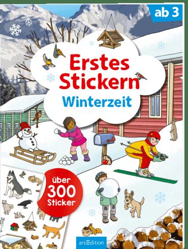 Erstes Stickern: Winter | Ars Edition