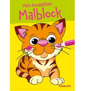 Mein Knuddeltier-Malblock (Ti   Tessloff Verlag