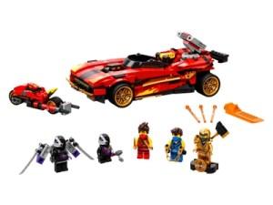 Lego 71737 Lego Ninjago X 1 Ninja Supercar | Lego