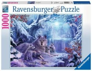 Winterwölfe 1000p-1000 Teile | Ravensburger Spielverlag