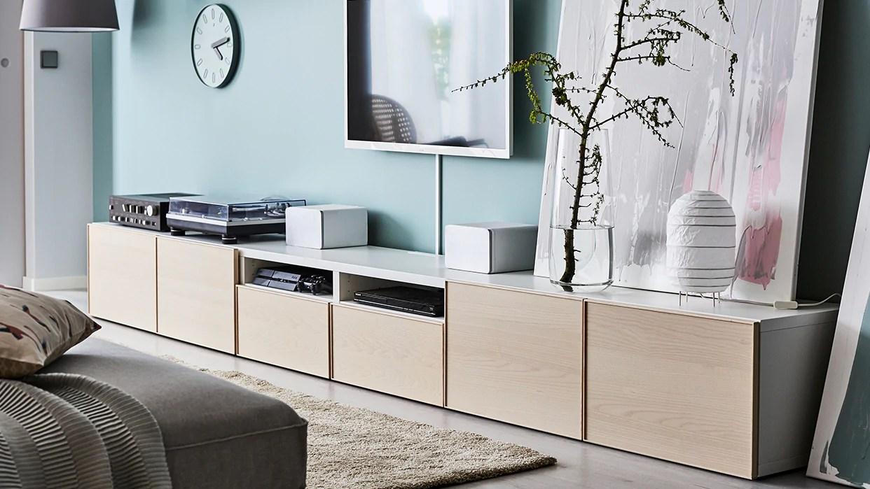 rangement modulaire besta meubles