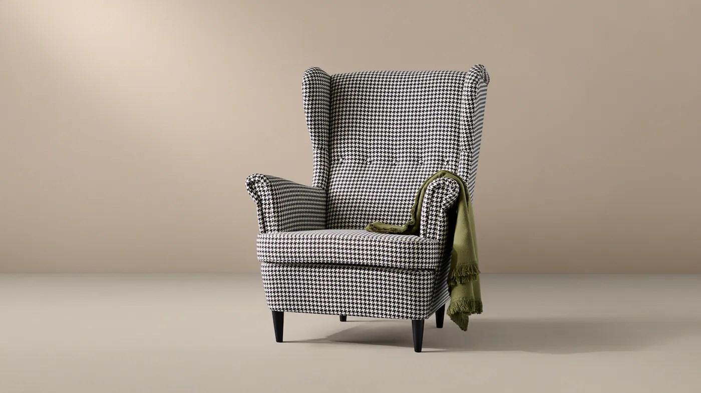 fauteuil club tissu enduit ou cuir ikea