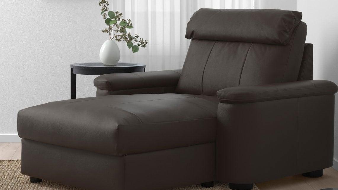 coated fabric chaise lounge ikea