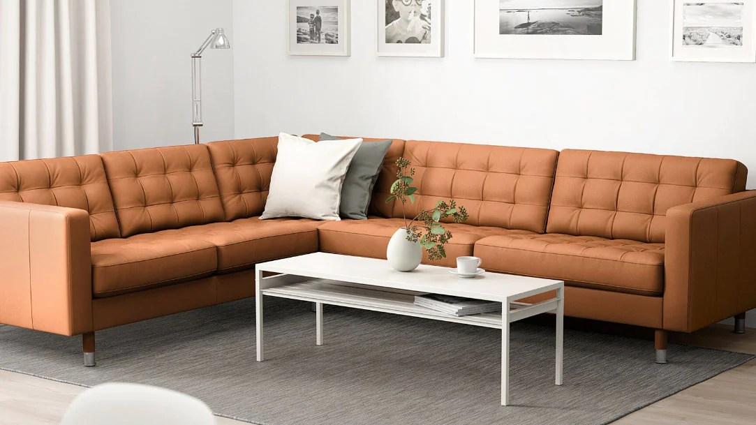 leather corner sofas coated fabric