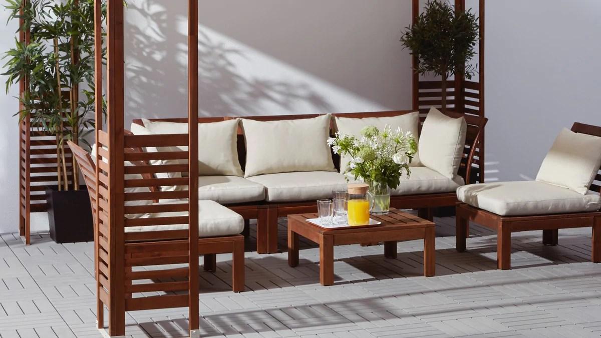 modern outdoor furniture ikea