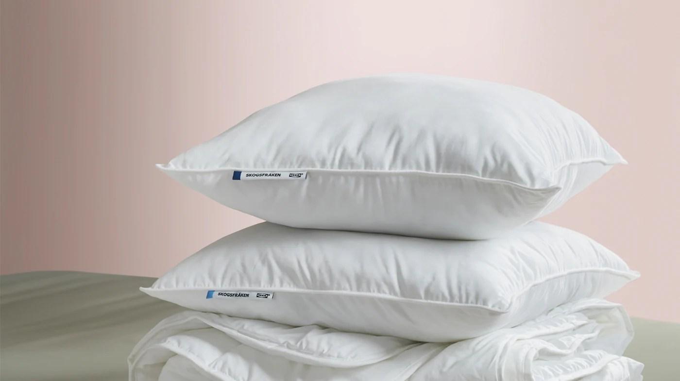 pillows king queen standard sizes