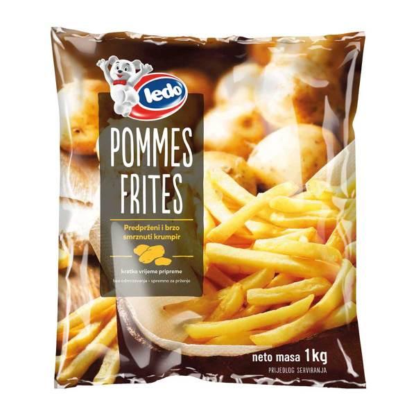 Pommes frites 1kg, Ledo
