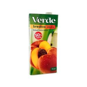 Sok Verde breskva-jabuka nektar 1L