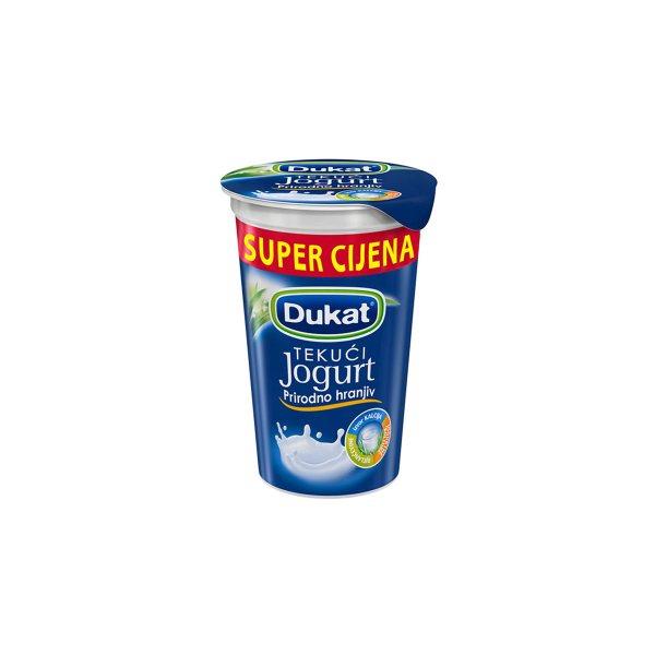 Tekući jogurt maxi 2,8% m.m. 230g, Dukat