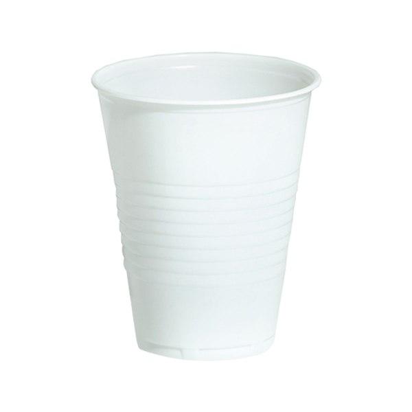 Čaše plastične Enjoy bijele 0,2L 100kom