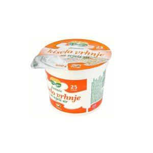 Domaće kiselo vrhnje za svježi sir 25% m.m. 300g, Vindija