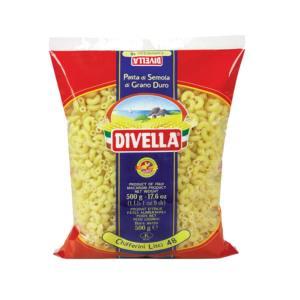 Tjestenina Chifferini Lisci 48 500g, Divella 01